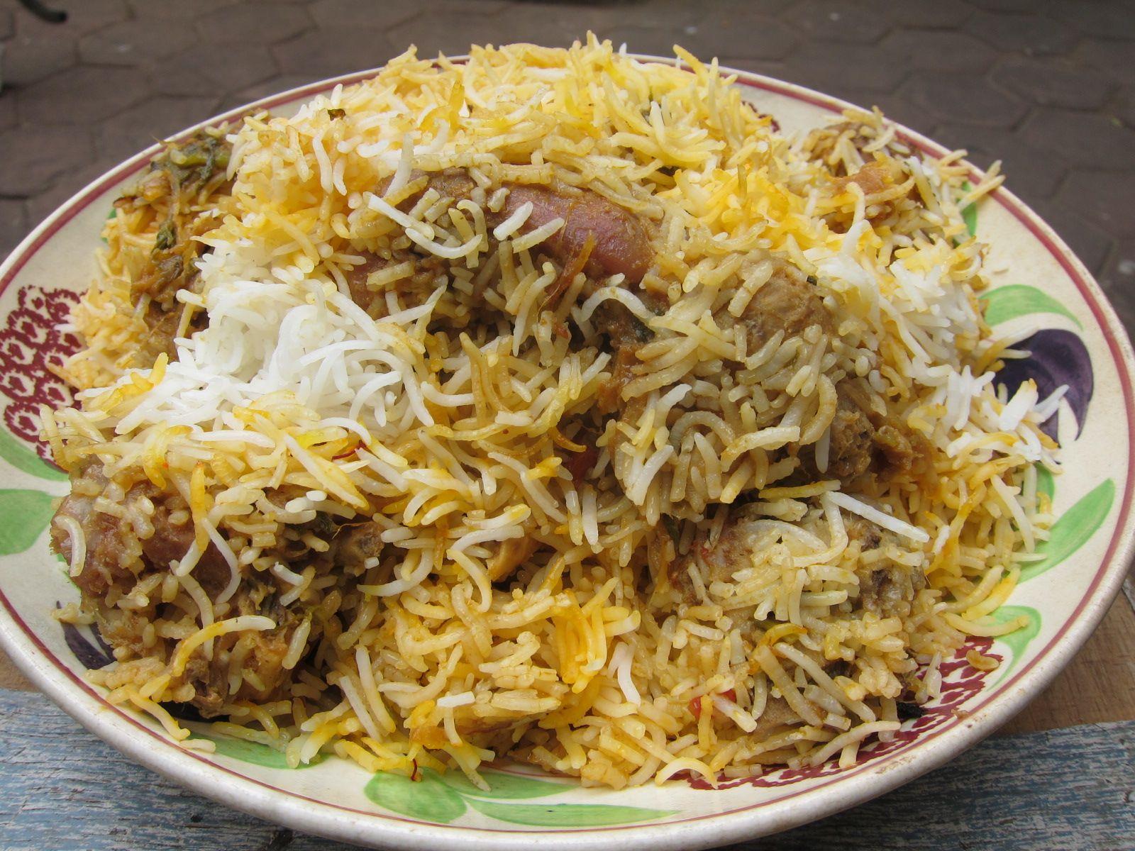 hyderabadi mutton biryani mutton back leg holy joes meats more